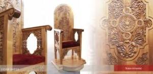 scaun preotesc
